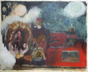 'Turkey School' 120cmx240cm Oil on canvas